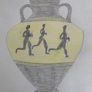 Андрей К., 5 кл. Древнегреческая ваза