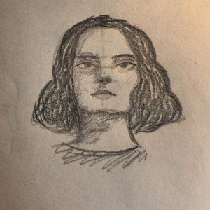 Евгения В., 6 кл. Автопортрет