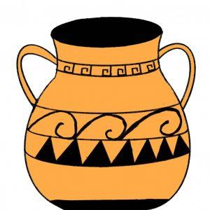 Маша С., 5 кл. Древнегреческая ваза
