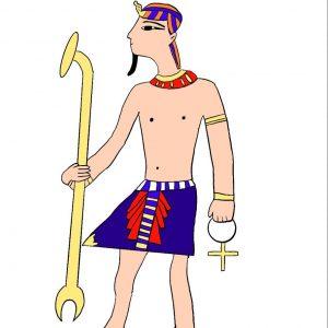 Маша С., 5 кл. Костюм египтянина