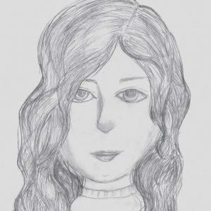 Эвелина Х., 6 кл. Автопортрет